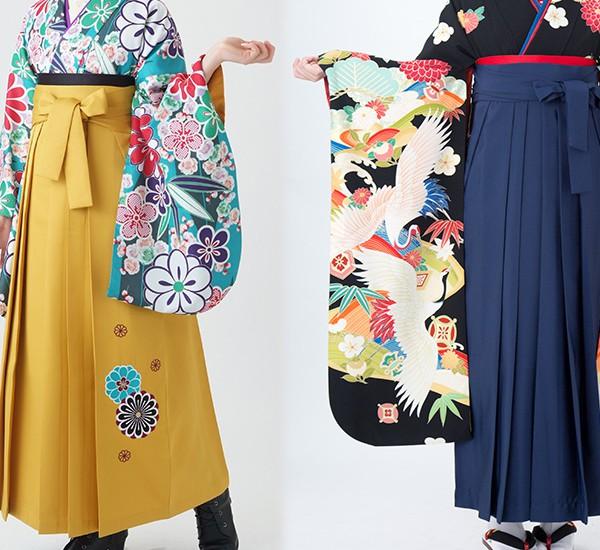 二尺袖袴と振袖袴の違いアイキャッチ